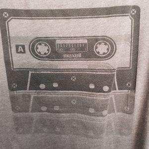 """Gray """"MAXELL"""" Tape Tank"""